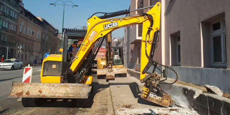 Izvođenje građevinskih radova na novim distributivnim mrežama