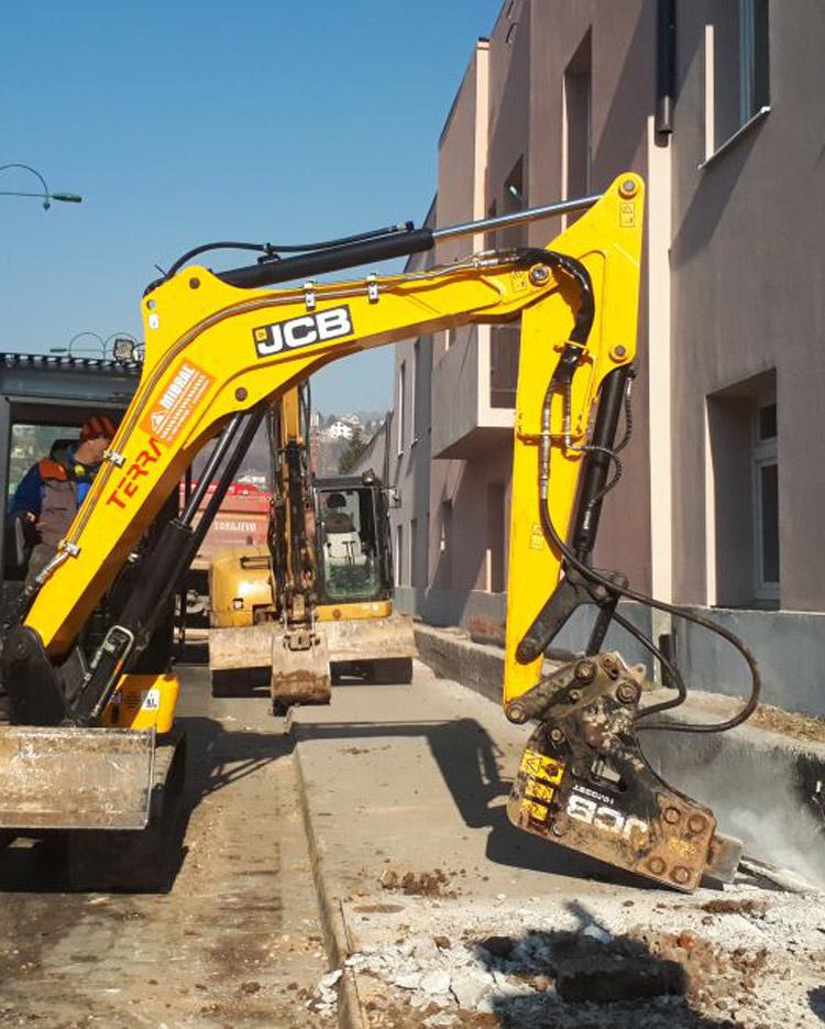 Građevinskih radova na novim distributivnim mrežama