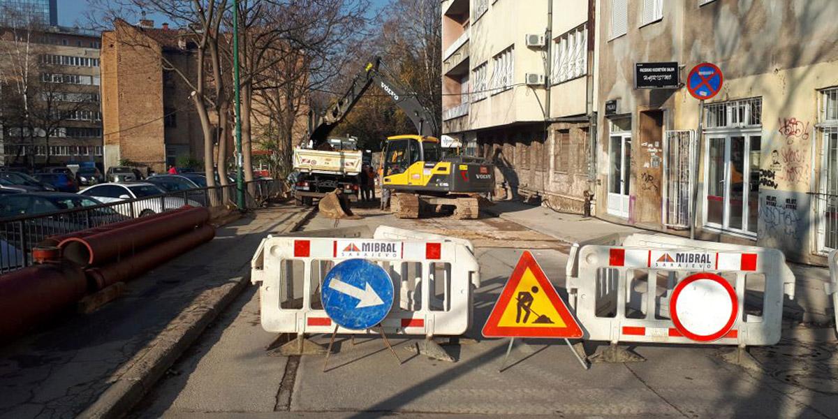 VOD Rekonstrukcija vodovodne i kanalizacione mreže u ul. Kranjčevićeva