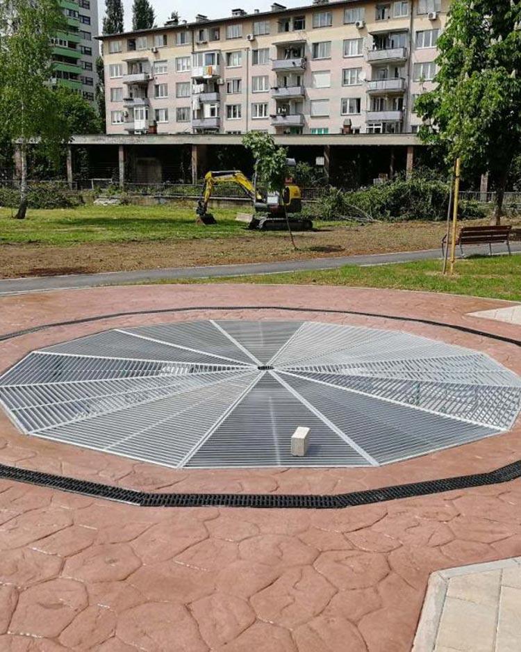 Construction of a children's playground in street Behdžet Mutevelić