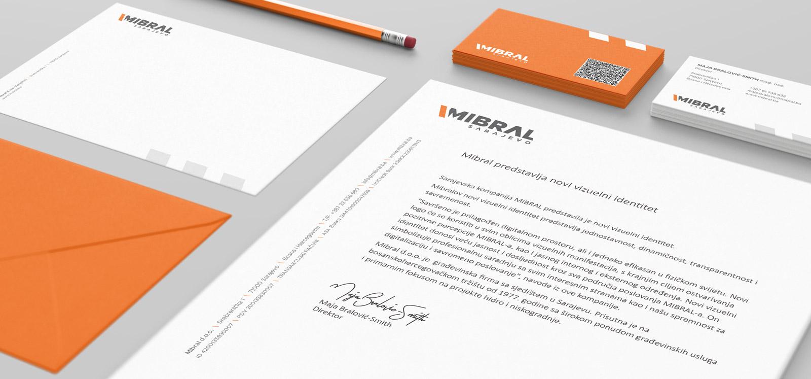 Mibral Visual identity 2020