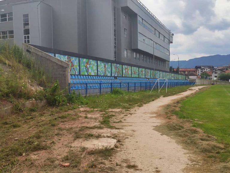 Atletska stazia stadion Vlajko Petrovic Pale