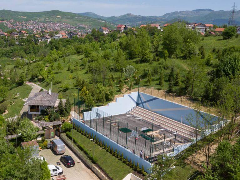 Izgradnja sportskog igralista Park sume Mojmilo